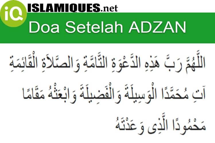Bacaan Doa Setelah Adzan Sesuai Sunnah